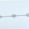 bracelet fleur de coeurs