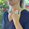 Bracelet 4 diamants