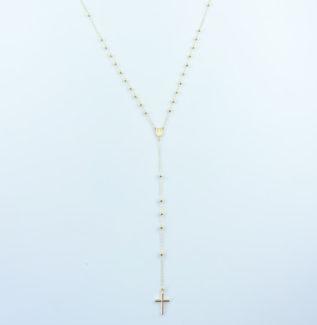 Sautoir croix en or Lyon