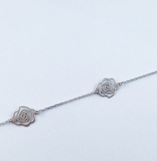 Bracelet rose fin