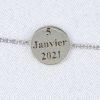 Bracelet Initiale or et diamants